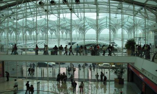 Zdjecie PORTUGALIA / - / Lizbona - Park Narodów/Expo / centrum handlowe Vasco da Gama na Expo