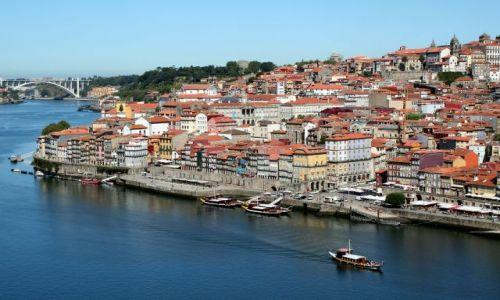 Zdjecie PORTUGALIA / - / Porto / Wybrzeże Ribeira