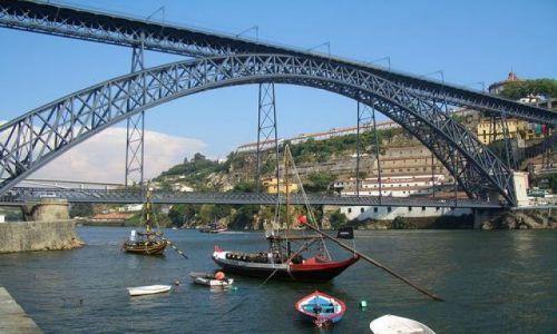 Zdjecie PORTUGALIA / Porto / Porto / Dom Luis