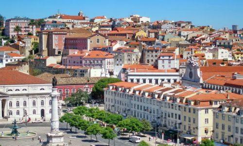 Zdjecie PORTUGALIA / Lisabon / Lizbona / Górzyste miasto