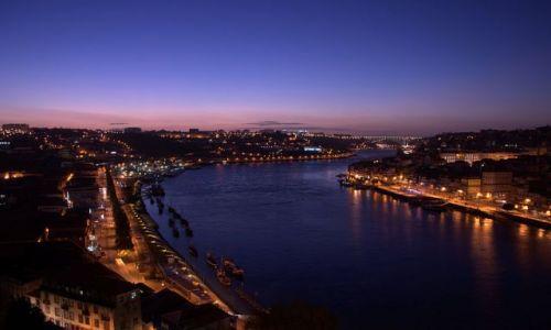 Zdjecie PORTUGALIA / - / porto / widok z mostu
