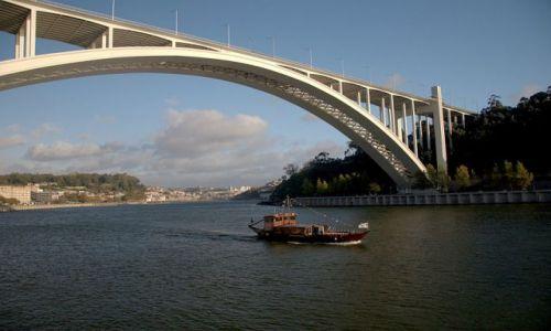 Zdjecie PORTUGALIA / - / porto / biały most