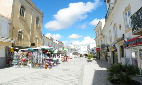 Zdjecie PORTUGALIA / Algarve / Albufeira / uliczka