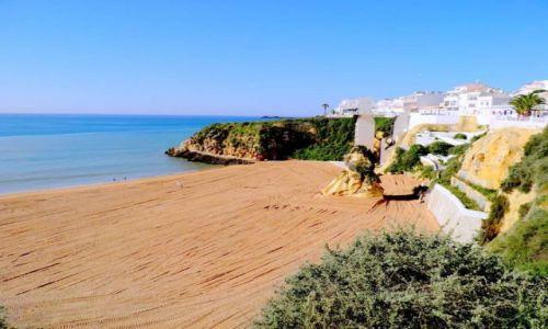 PORTUGALIA / Poludnie Portugalii / miasteczko Albufeira / Algarve -Albufeira