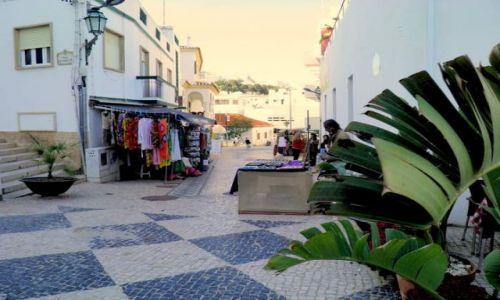 PORTUGALIA / Poludnie Portugalii / miasteczko Albufeira / Portugalia-Algarve-Albufeira