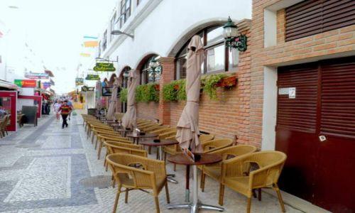 PORTUGALIA / Poludnie Portugalii / miasteczko Albufeira / Algarve-Albufeira