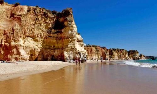 Zdjęcie PORTUGALIA / - / Praia da Rocha / Plaża