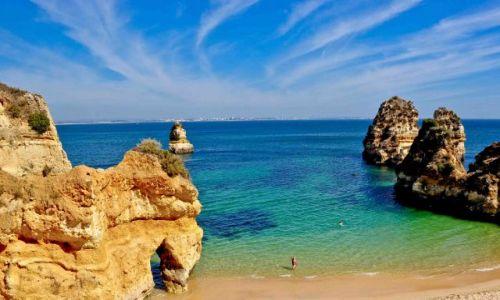 Zdjecie PORTUGALIA / - / LAGOS / WIDOK NA OCEAN