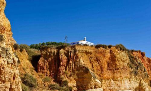 Zdjęcie PORTUGALIA / - / Praia da Rocha / NA KLIFIE