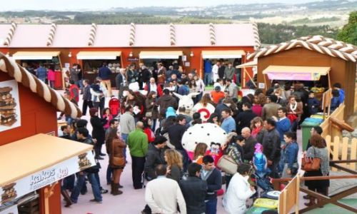 PORTUGALIA / Lisboa / Óbidos / Międzynarodowy Festiwal Czekolady w Óbidos