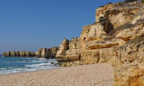 Zdjęcie PORTUGALIA / Algarve / Algarve / Klif & Plaza