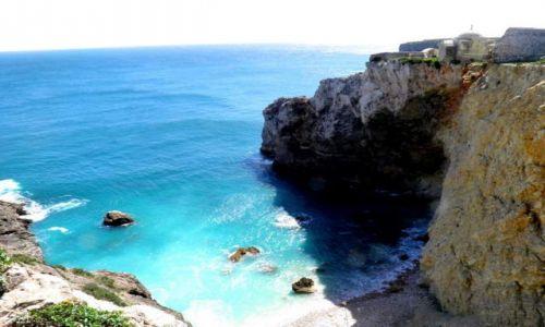 Zdjęcie PORTUGALIA / Zachodnie Algarve / Brzeg oceanu w  poblizu Sagres / Sagres
