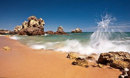 Zdjęcie PORTUGALIA / Algarve / Albufeira / Wave...