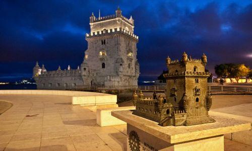 Zdjecie PORTUGALIA / - / lizbona / Torre de Belem