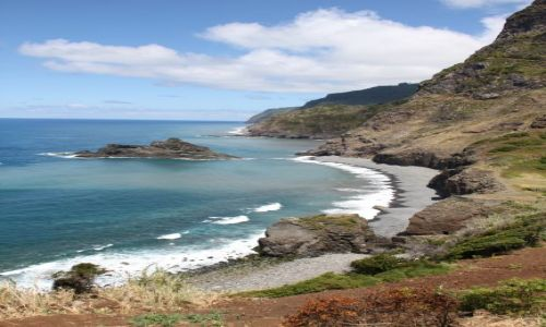 PORTUGALIA / Madera / północne wybrzeże / Raj