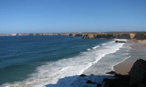 Zdjecie PORTUGALIA / Faro / Sagres / Ocean Atlantycki