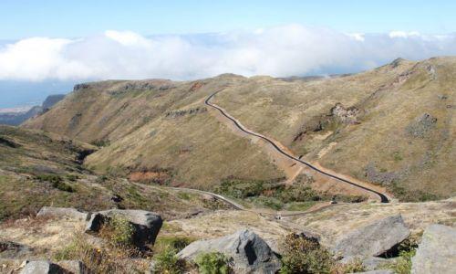 PORTUGALIA / Madera / w drodze na Pico de Arieiro / Droga do nieba
