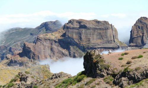 PORTUGALIA / Madera / Pico Do Arieiro / W górach
