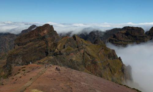 Zdjecie PORTUGALIA / Madera / Pico Do Arieiro / KONKURS Marzenia spełniają się - Znalezć się w niebie
