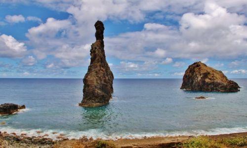 PORTUGALIA / - / Madera / Stojąc w wodzie...