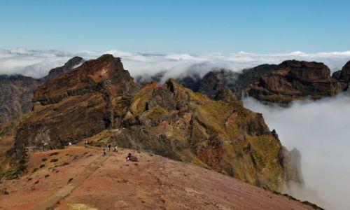 Zdjęcie PORTUGALIA / Madera / Pico Do Arieiro / Konkurs - Góry moja miłość