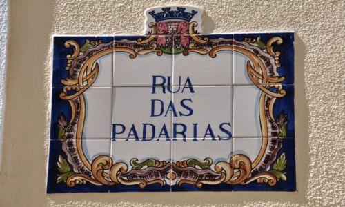 Zdjęcie PORTUGALIA / - / Cascais / Portugalskie oznaczenie ulic