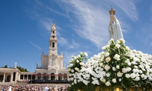 PORTUGALIA / Lisboa / Fatima / Bazylika Matki Bożej Różańcowej z Fatimy (Basílica de Nossa Senhora do Rosário de Fátima)