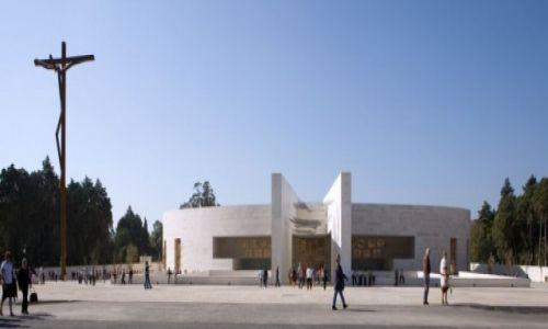 PORTUGALIA / Lisboa / Fatima / Bazylika Trójcy Przenajświętszej (Basílica da Santíssima Trindade)
