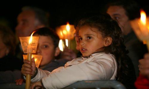 PORTUGALIA / Lisboa / Fatima / Procesja ze świecami (Procissão das Velas)