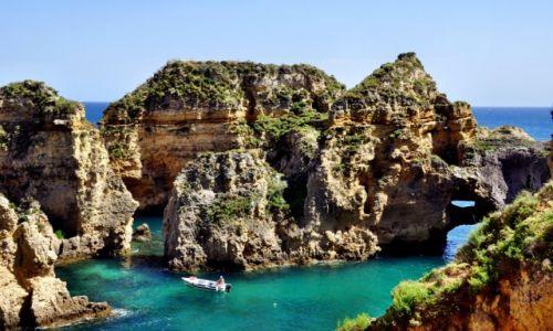 Zdjecie PORTUGALIA / Algarve / Lagos / Ponta de Piedade