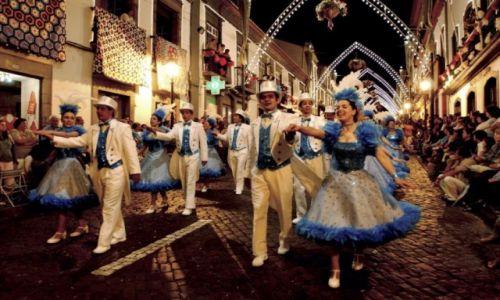 PORTUGALIA / Azory / Azory / Parada podczas Sanjoaninas