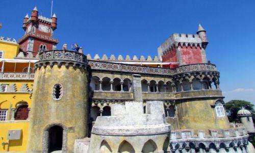Zdjecie PORTUGALIA / Lizbona / Sintra / Pałac Pena
