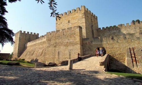 PORTUGALIA / Lizbona / Lizbona / Zamek św. Jerzego