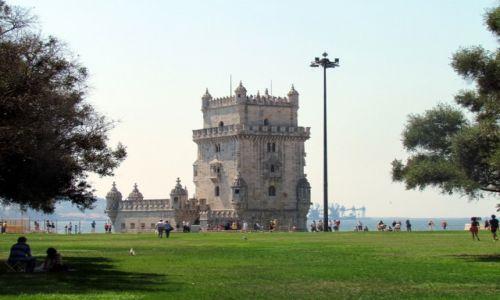 Zdjecie PORTUGALIA / Lizbona / Belem / Wieża obronna
