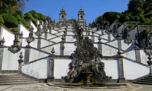Zdjecie PORTUGALIA / Braga / Sanktuarium/Braga / Bom Jesus do Monte