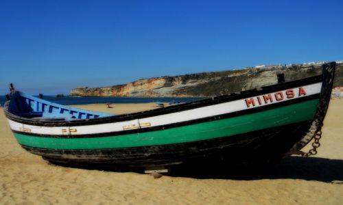 Zdjęcie PORTUGALIA / zachodnie wybrzeże / Nazare / Nazare