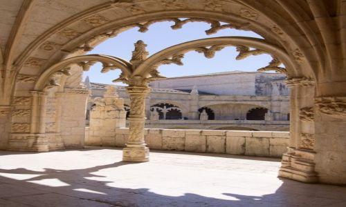 Zdjecie PORTUGALIA / Lizbona / klasztor Hieronimitów / nie wymyśliłam...