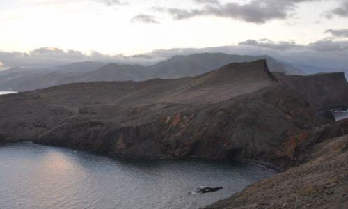PORTUGALIA / Madera / Ponta de Sao Lourenco / Widok na półwysep