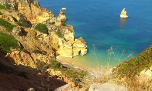 Zdjecie PORTUGALIA / Algarve / praia Dona Ana / Plaza Dona Ana