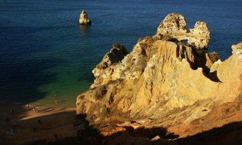 PORTUGALIA / Algarve / Lagos / O zachodzie