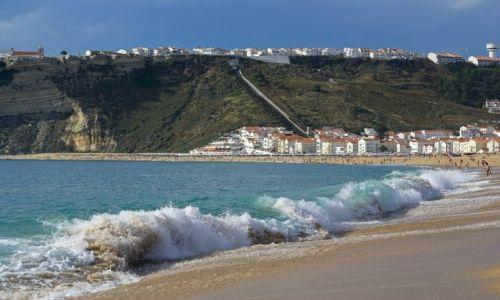 Zdjęcie PORTUGALIA / nad oceanem / Nazare / Wybrzeże Nazare