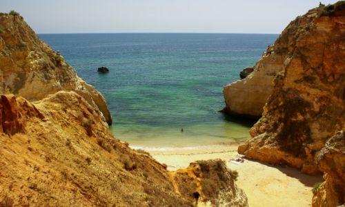 Zdjecie PORTUGALIA / Algarve / Playa da Rocha / Ustronne miejsce