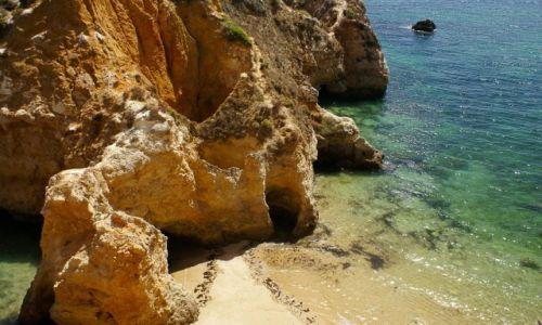 Zdjęcie PORTUGALIA / Algarve / Playa da Rocha / Inne ustronne miejsce