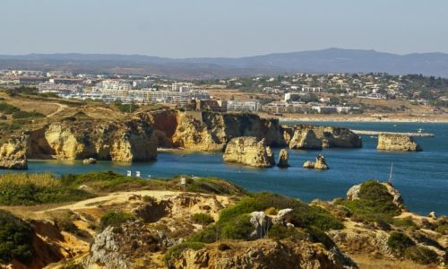 Zdjecie PORTUGALIA / Algarve / Lagos / Nadmorki krajobraz