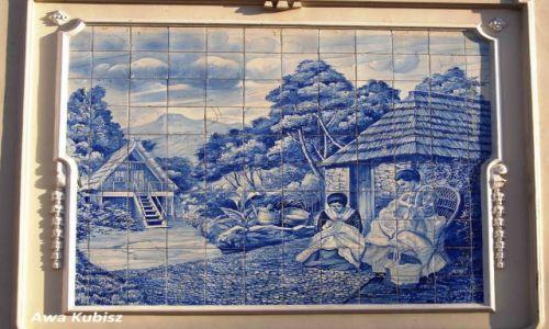 PORTUGALIA / Wyspa Madera / Funchal / Obrazy z azulejos