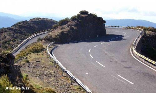 PORTUGALIA / Wyspa Madera / Góry wewnątrz wyspy / Drogi pełne zakrętów