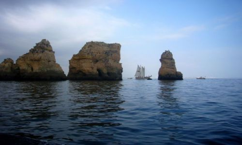 Zdjecie PORTUGALIA / Algarve / Ponta da Piedade / Ska�y Algarve