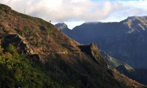 Zdjecie PORTUGALIA / Madera / Centrum wyspy, Boca de Encumeda / W górach