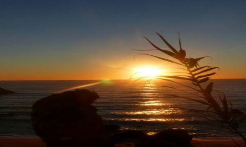 Zdjecie PORTUGALIA / Algarve / Lagos / Noworoczny wschód słońca