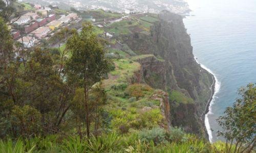 Zdjecie PORTUGALIA / Madera / Cabo Girao / Jeden z najwyższych klifów w  Europie